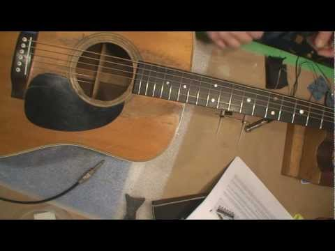 L.R. Baggs Acoustic Guitar Pickup Installation