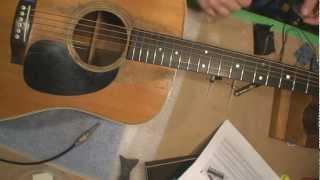 L.R. Baggs Acoustic Guitar Pickup Installation