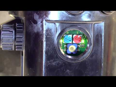 How To Change Time Settings On The Skf Lincoln P203 Pump Using The Standard Pump Dial Youtube