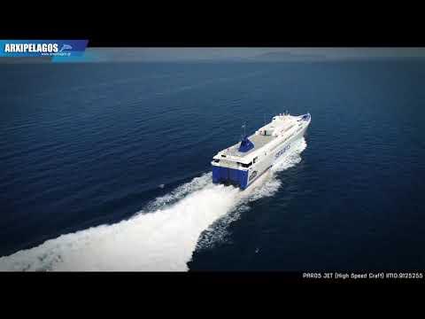 PAROS JET - High Speed Craft  IMO:9125255  (Moments Travel)