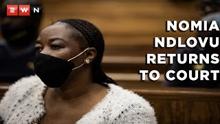 Murder-accused Nomia Rosemary Ndlovu returned to court on 20 September 2020 where she was cross-examined on the deaths of 6 people. It's alleged that Ndlovu ordered hits on her relatives and her partner in order to cash in on insurance policies.
