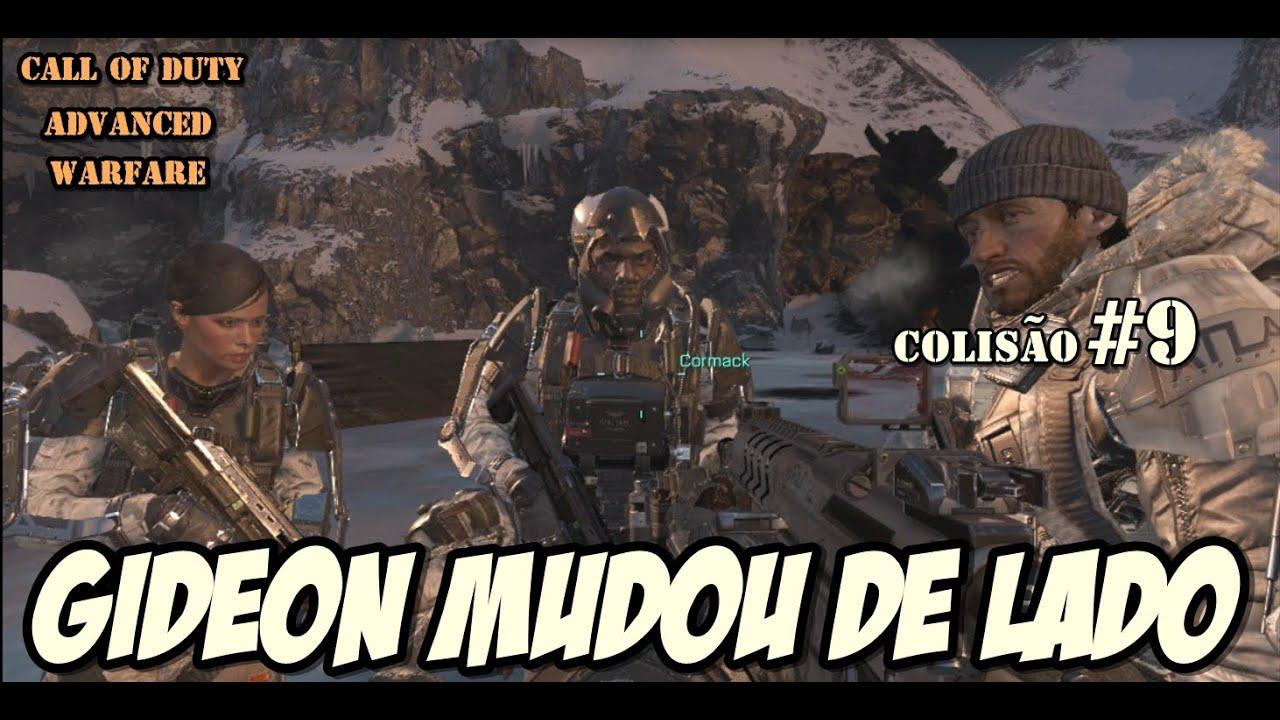 COD Advanced Warfare│Missão Colisão│Gideon mudou de lado ...