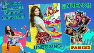 Soy Luna 2 UNBOXING - Nuevo Álbum Segunda Temporada