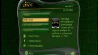 Original Xbox Live Dashboard + Moto GP