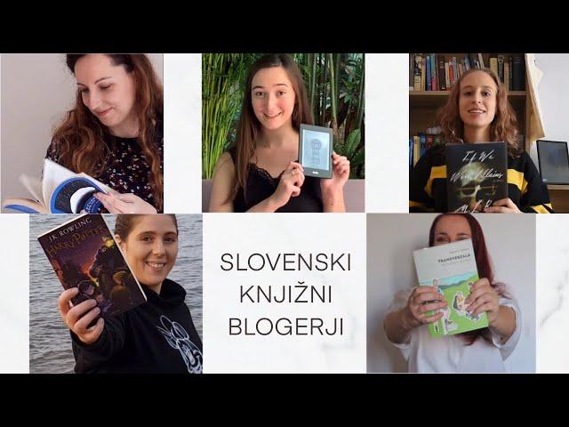 Slovenski knjižni blogerji in naše najljubše knjige