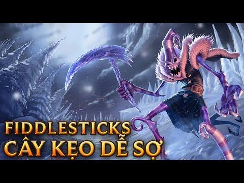 Fiddlesticks Cây Kẹo Dễ Sợ - Dark Candy Fiddlesticks - Skins lol