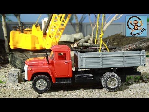 Мультфильм трактор и самосвал