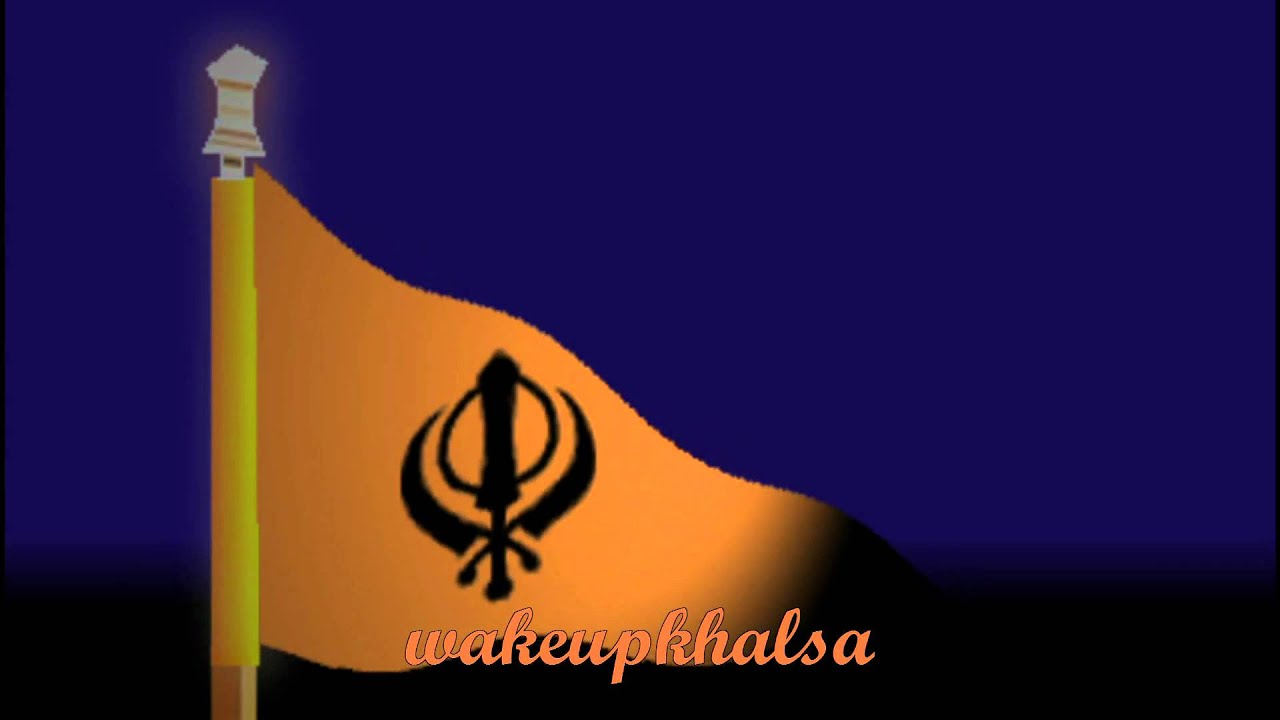 Sikh Animated Wallpaper Nishan Sahib Youtube