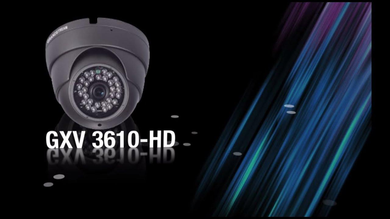 Grandstream Surveillance Camera GXV3610-HD