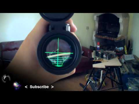 Airgun Scopes: Red Dot, Luminated Crosshair, 32x Scope and Rangefinder!