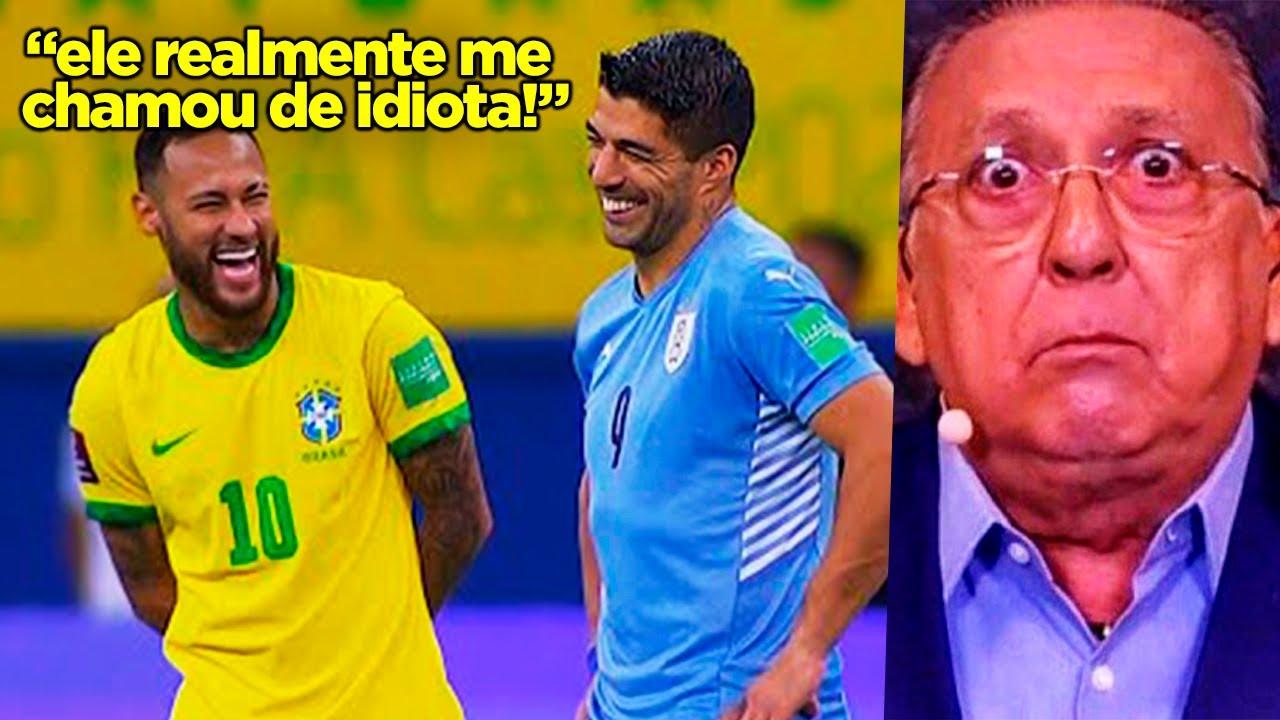 Download NEYMAR JOGOU DEMAIS E DEIXOU O GALVÃO QUIETINHO!! NEYMAR BRINCOU DEMAIS CONTRA O URUGUAI!!!