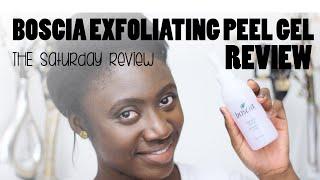 BOSCIA EXFOLIATING PEEL GEL REVIEW || The Saturday Review