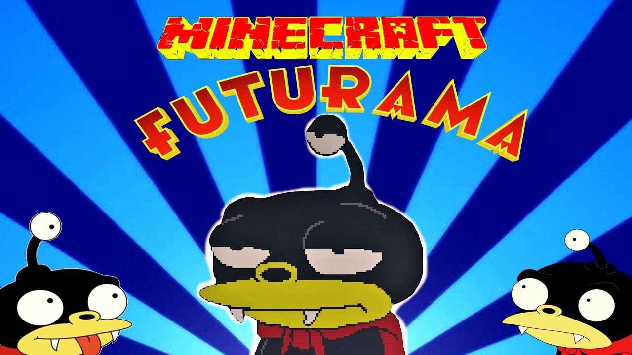 craft attack how to build lord nibbler futurama youtube