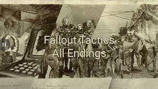 Fallout Tactics All Endings HD
