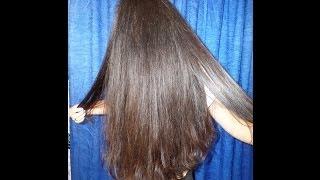 Выпрямить волосы утюгом для белья