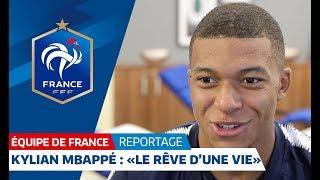Equipe de France : Kylian Mbappé :