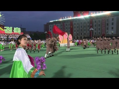 N.Korea stages second mass spectacular to mark end of congress