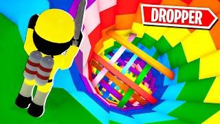 ROBLOX THE PIGGY DROPPER CHALLENGE!!