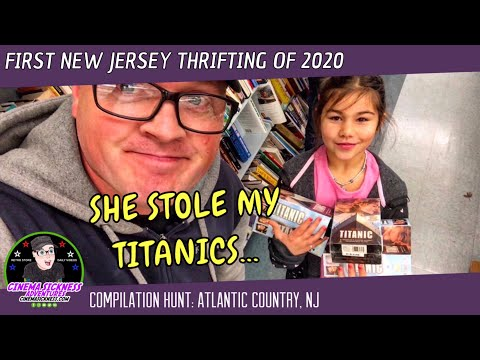 First New Jersey Thrifting Of 2020 | Compilation Hunt: Atlantic County, NJ