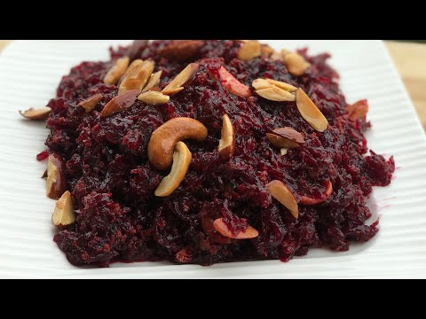 Beet root halwa recipe beet root halwa recipe in pressure cooker