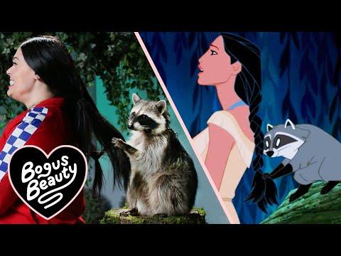 A Raccoon Tried To Braid My Hair Like In Pocahontas