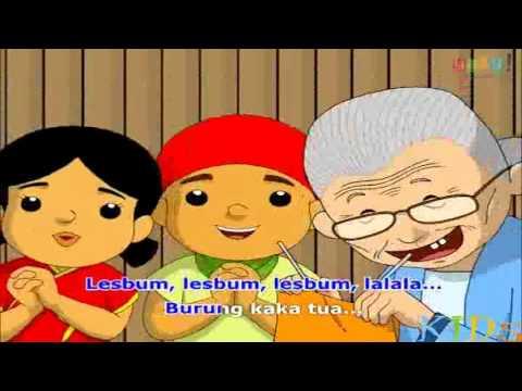 Burung Kakak Tua -  Lirik Lagu Anak Indonesia