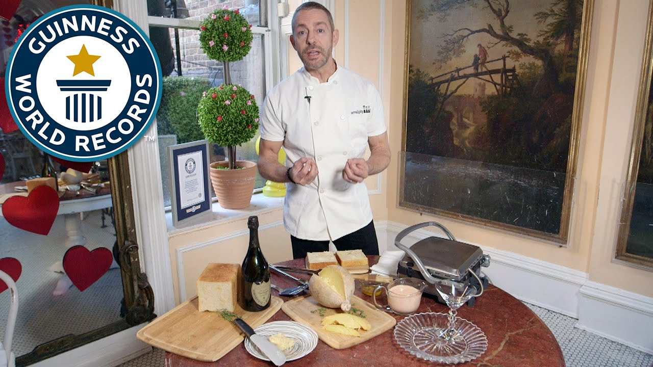 Download How to make the most expensive sandwich - Guinness World Records