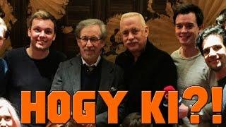 Lazulgatás Spielberggel és Tom Hankssel