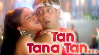 Tan Tana Tan Tan Tan Tara.. Chalti Hai Kya 9 Se 12 - Salman Khan - Karishma Kapoor - Judwaa Songs