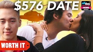 Repeat youtube video $12 Date Vs. $576 Date // Sponsored By McDonald's All Day Breakfast