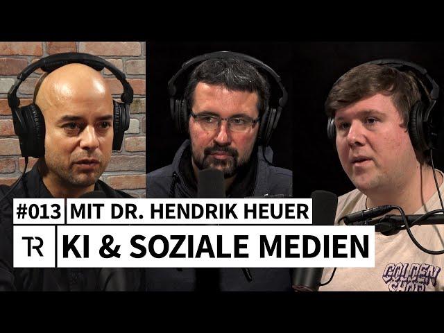 #013 Social Media, Algorithmen, Filterblasen - mit Dr. Hendrik Heuer (Universität Bremen)