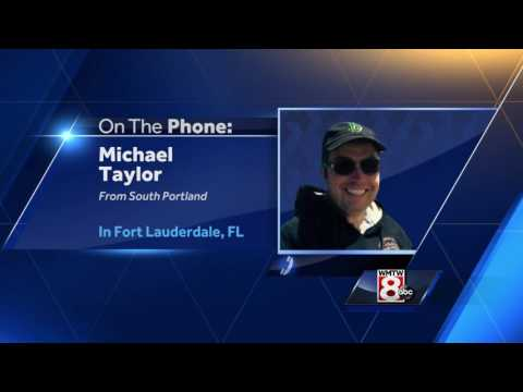 Mainer describes chaos of Fort Lauderdale airport shooting