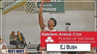 Carson-Newman Men's Basketball:  EJ Bush recaps Shorter 11-13-19