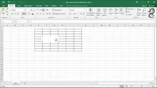 How to Erase Cęll Border in Excel