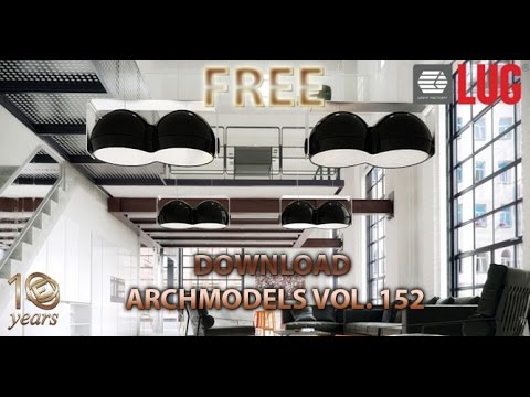 Evermotion Free DOWNLOAD ARCHMODELS VOL  152 all light model