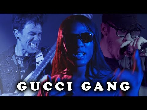Gucci Gang  Lil Pump Ghost Fight Rock  Pop Goes Punk