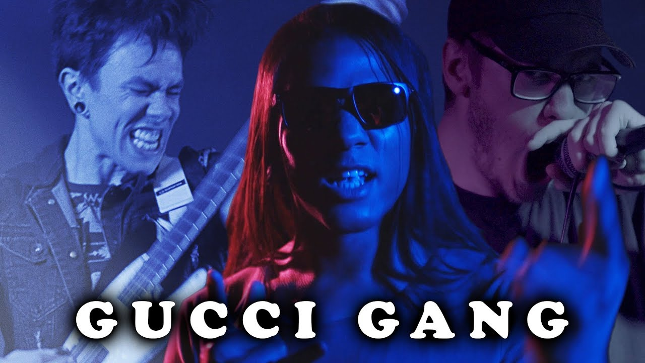 Gucci Gang - Lil Pump (Ghost Fight Rock Cover) Pop Goes Punk