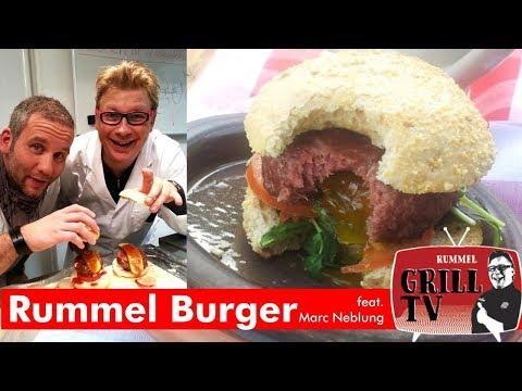Wie kommt das Ei in den Burger? Rummelburger feat. Marc Neblung 2013 -Rummel Grill TV #rummelgrilltv