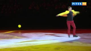 Петербург увидел шоу олимпийских чемпионов