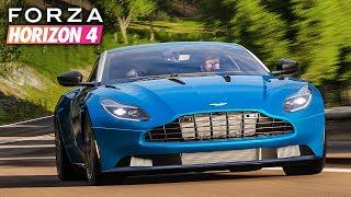 Forza Horizon 4 | Aston Martin DB11 Gameplay [1440p60]