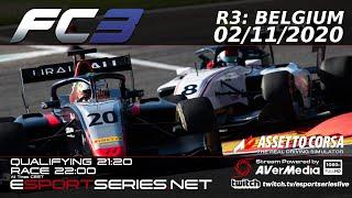 ESPORTSERIES.NET | FC3 2020 | R3 | BELGIUM