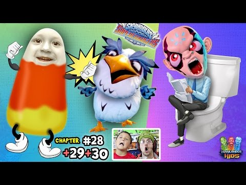 Lets Play SKYLANDERS SUPERCHARGERS Chapter 28, 29, 30: Kaos Diary-uh & Cluck 'n Candy Corn 2.0