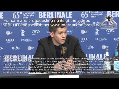Robert Naylor 65. Berlinale Pressekonferenz Every Thing Will Be Fine
