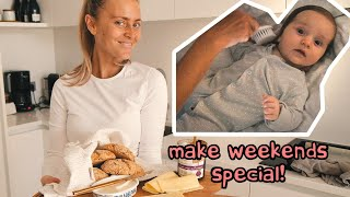 MAKE WEEKENDS SPECIAL! + 5 month baby bedtime routine