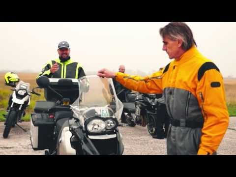 Jeremy Irons Takes BMW Motorrad Rider Training in Hungary