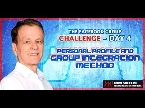 Facebook Group Challenge 4 - Personal Profile and Group Integration Method