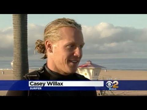 GREAT WHITE SHARK ENCOUNTER NEWS INTERVIEW (HUNTINGTON BEACH CLOSED)