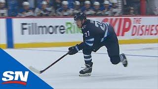 Jets' Nikolaj Ehlers Almost Scores Twice To Erase Blues' Lead
