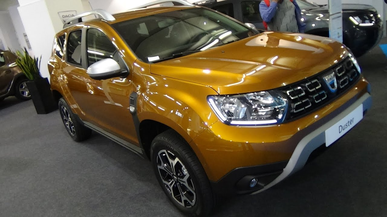 2018 dacia duster prestige tce 125 exterior and interior. Black Bedroom Furniture Sets. Home Design Ideas