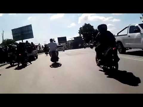 Simpang Lima Kota Gorontalo   Jalan-Jalan Naik Bentor